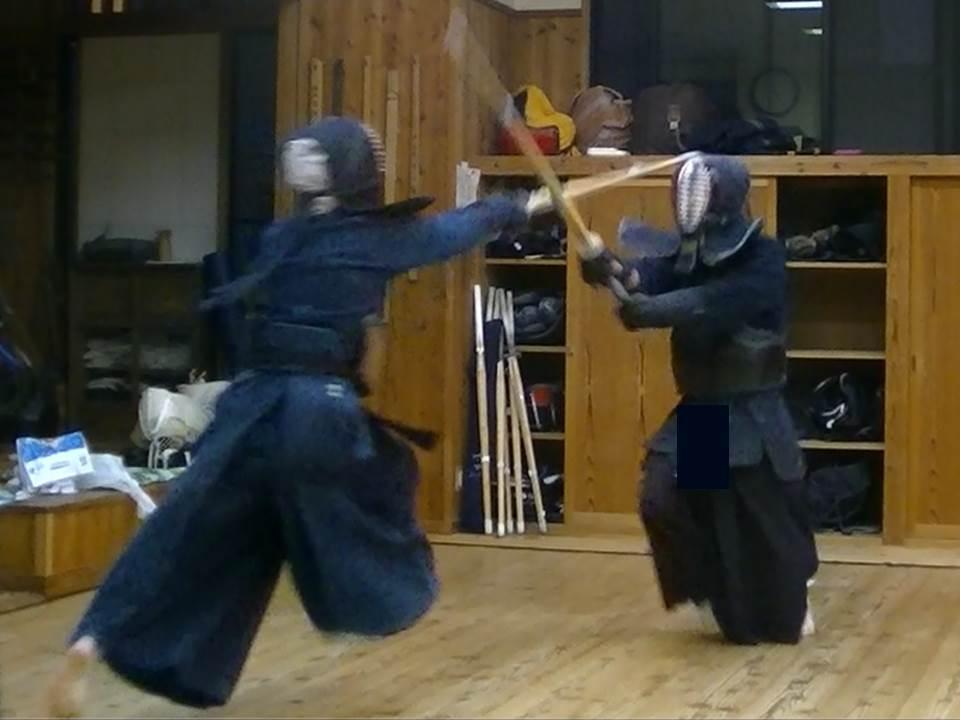 剣道 「打突フォーム」構えを考察する③